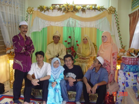 AbeApih and Kak Atie's wedding